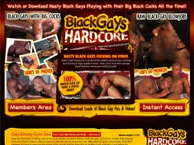 Welcome to Black Gays Hardcore - hot ebony gay men in high Quality Movies!