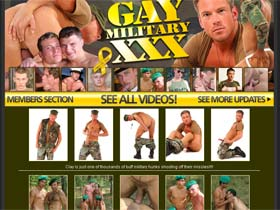 Welcome to Gay Military XXX - hot men looking for guns to spit-shine!