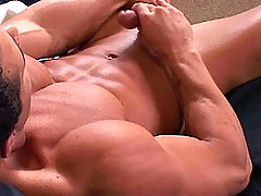 Sexy muscular stud playing with his sweet nice cock