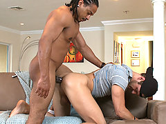 young stud rides castros monster cock