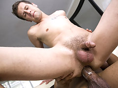 This cute guys asshole gets punished with this monster dick!