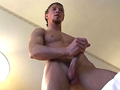 Mikes Enjoys Shaking His Cock And Come On His Hands