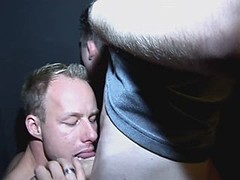 Twink gets his tight virgin butt licked and dicked