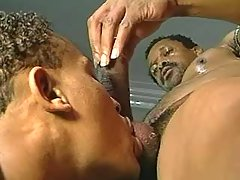 Nasty black gays assfucking heavily