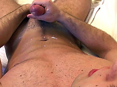 Cute amateur stud enjoying his nice cock in solo clips here