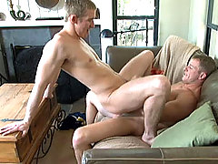 Watch Tommy shove his hard dick in Mason's tight asshole!
