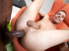 young gay stud loves a huge cock in his ass